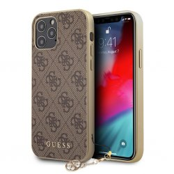 iPhone 12/iPhone 12 Pro Deksel 4G Charms Brun