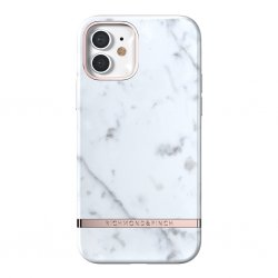 iPhone 12/iPhone 12 Pro Deksel White Marble