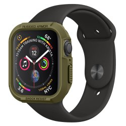 Apple Watch 40mm (Series 4/5/6/SE) Deksel Rugged Armor Olive Green