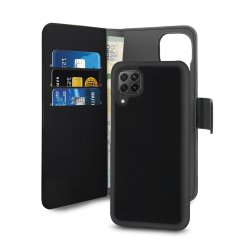 Huawei P40 Lite Etui Wallet Detachable 2 in 2 Svart