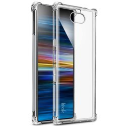 Sony Xperia 10 Plus Deksel Air Series TPU Extra Skyddande Hörn Transparent