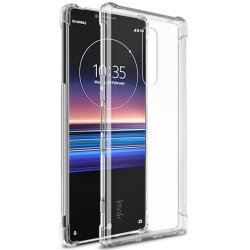 Sony Xperia 1 Deksel Air Series TPU Extra Skyddande Hörn Transparent
