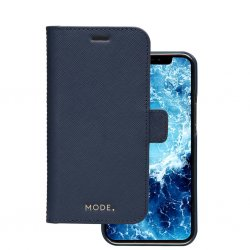 iPhone 12/iPhone 12 Pro Etui New York Löstagbart Deksel Ocean Blue