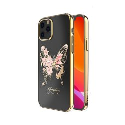 iPhone 12/iPhone 12 Pro Deksel Butterfly Series Gull