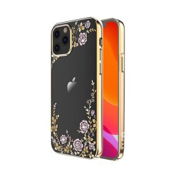 iPhone 12/iPhone 12 Pro Deksel Flora Series Gull