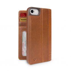iPhone 7/8/SE 2020 Etui Journal Cognac