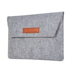 "Macbook Air 13.3"" Sleeve Stofftextur Grå"