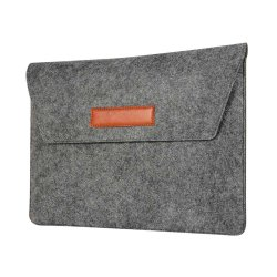 "Macbook Air 13.3"" Sleeve Stofftextur Svart"