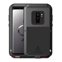 Powerfull Case till Samsung Galaxy S9 Plus Super GUARD Deksel Stötsäkert Svart