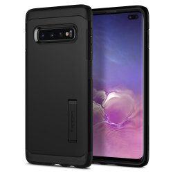 Samsung Galaxy S10 Plus Deksel Tough Armor Svart